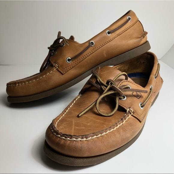 Sahara All Sizes Sperry Authentic Original 2 Eye Mens Footwear Slip Ons